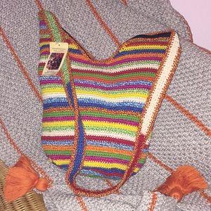 Handbags - Handwoven Crossbody Boho Bag!